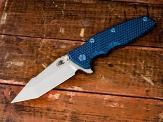 Eklipse_harpoon tanto_WF_Blue black g10_blue hardware_dlc