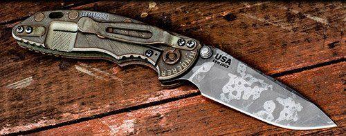 Rick Hinder XM-18 Tactical Folding Knife